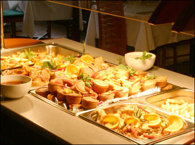 Full catering and Buffet at Villaggio Hotel
