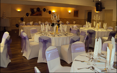 Wedding held at The Villaggio Hotel